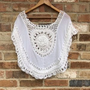Other - Forever 21 Crochet Cover Up
